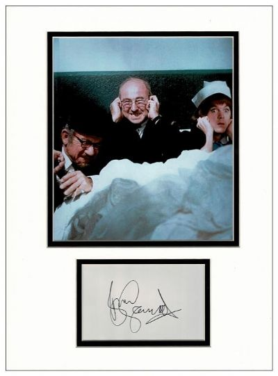 Bill Maynard Autograph Signed Display - Carry On Matron